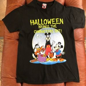 Disney Halloween Mickey TShirt Goofy Donald Duck